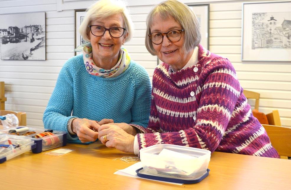 Ann-Britt Eriksson och Birgitta Brostad.