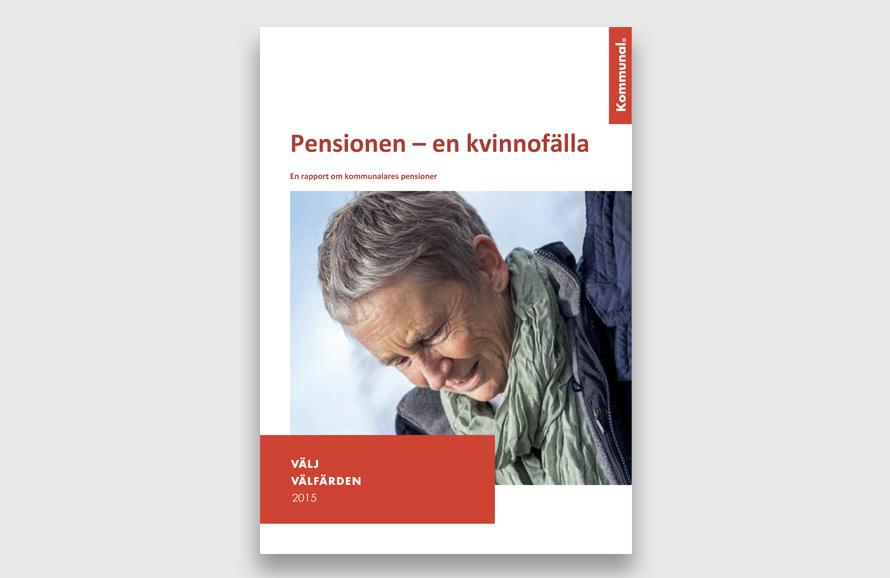 SKPF KOMMUNAL pensionen en kvinnofälla