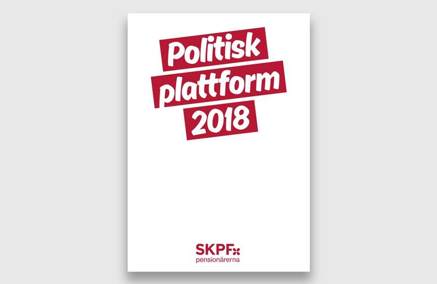 SKPF Politisk plattform 2018