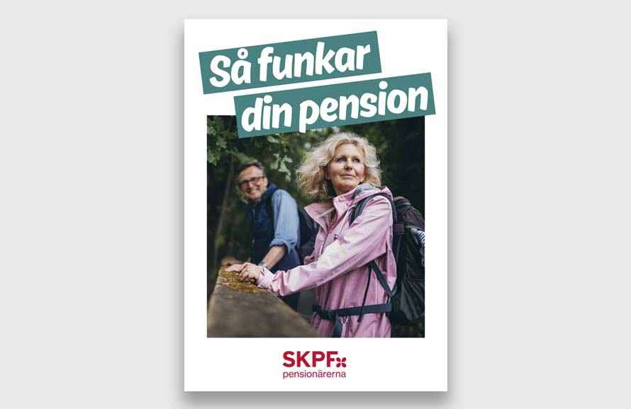SKPF folder. Så funkar din pension.