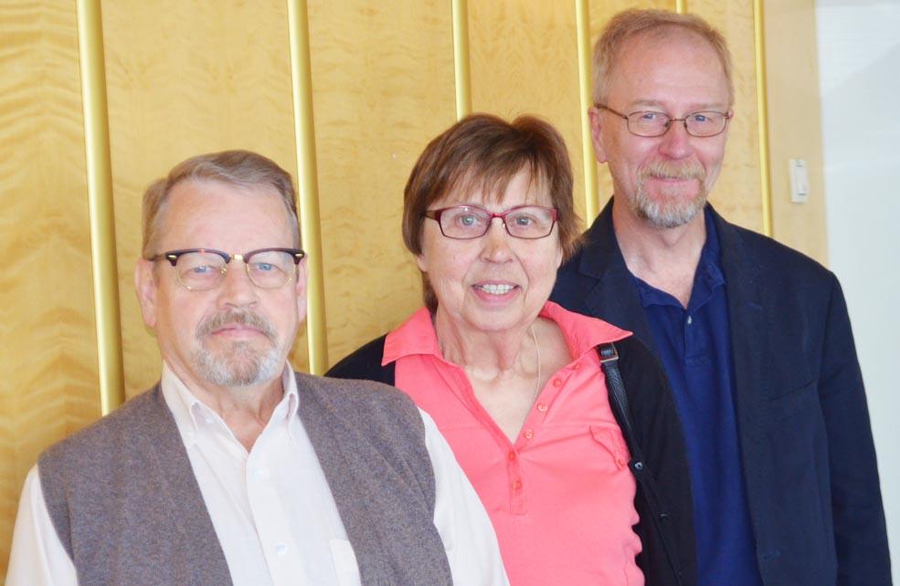Lars-Inge Larsson, Annastina Hörnfeldt, Per Lundström.