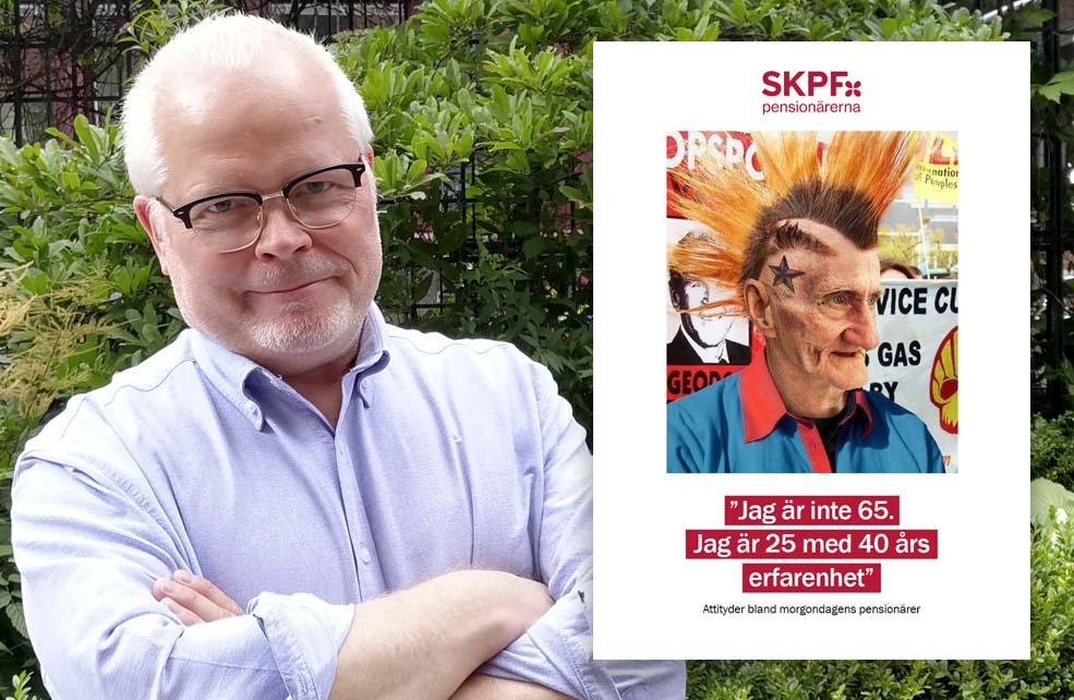Peter Sandberg, utredare på SKPF Pensionärerna