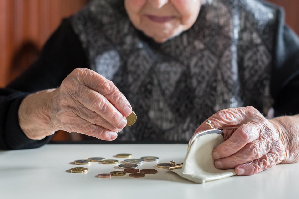 De flesta fattiga pensionärer är kvinnor.